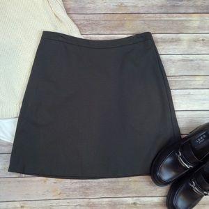 Margaret M stretchy pull on olive green skirt